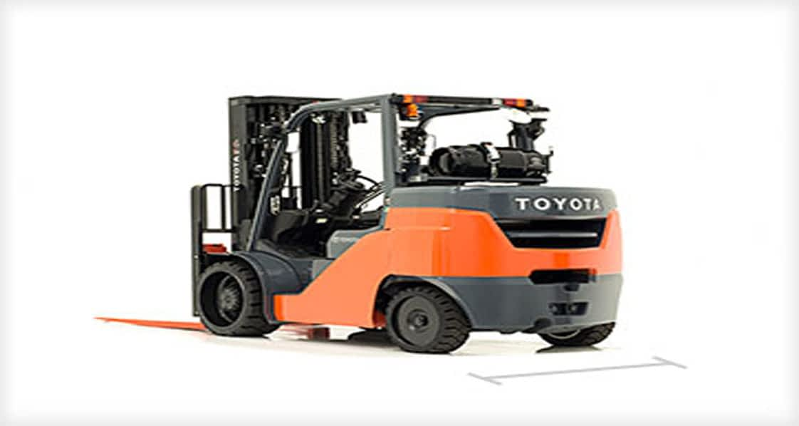 12000LB CUSHION TIRE FORKLIFT