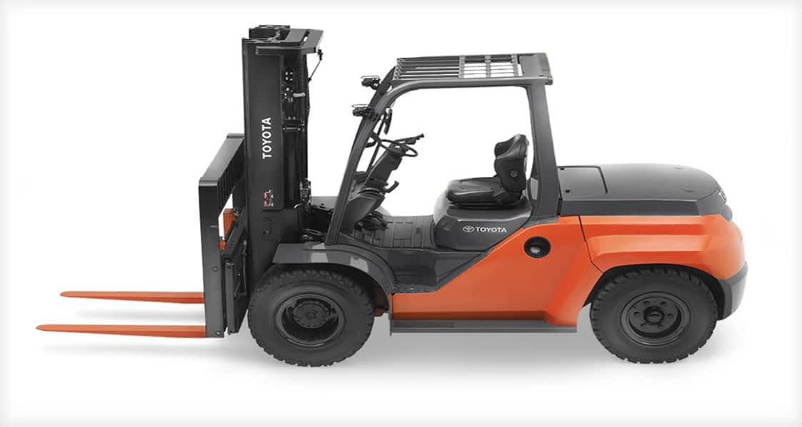 HEAVY DUTY CUSHION TIRE FORKLIFT