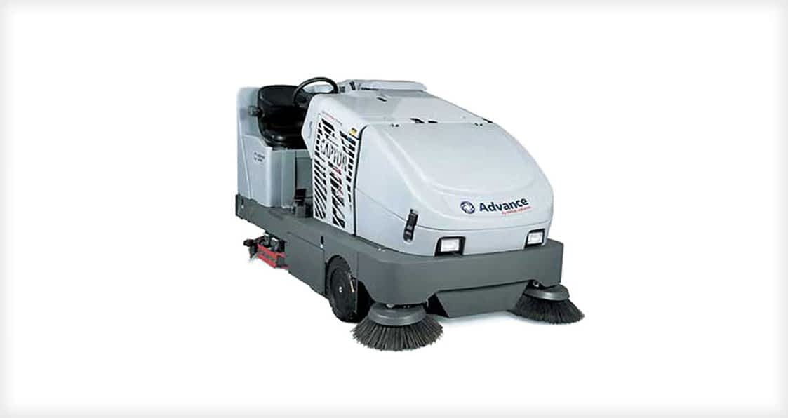 sweeper scrubber