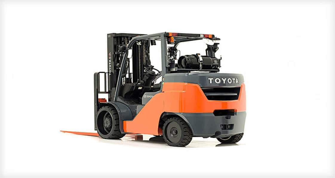 8000LB CUSHION TIRE FORKLIFT